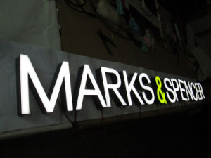 Why should you profile your company with LED facade letters